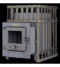 Печка за сауна на дърва - Gefest Groza 24 (M) в решетка