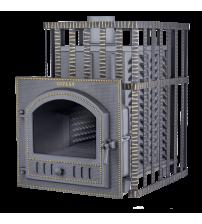 Træbrændende saunaovn - Gefest GFS ZK 30 (P) i gitter