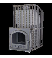 Stufa per sauna a legna - Gefest GFS ZK Uragan 45 (M) in griglia