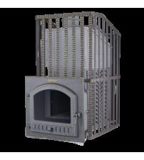 Stufa per sauna a legna - Gefest GFS ZK Uragan 45 (P) in griglia