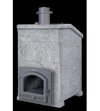 Печка за сауна на дърва - Gefest Grom 30 (P) Президент 1190/60 Сапунен камък