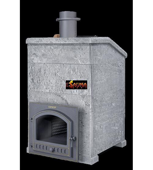 Træbrændende saunaovn - Gefest Grom 80 (P) Præsident 1320/60