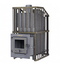 Wood-burning sauna stove - Gefest Groza Uragan 24 (M)