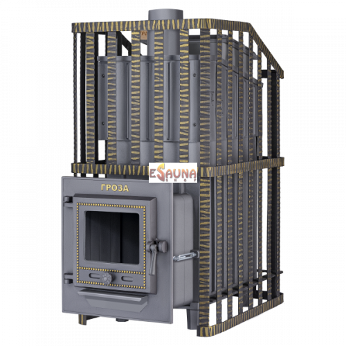 Wood-burning sauna stove - Gefest Groza Uragan 18 (M)