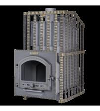 Wood-burning sauna stove - Gefest Groza Uragan 24 (P)