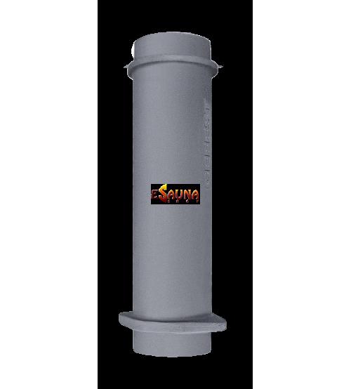 Tubo de chimenea de hierro fundido para estufas Gefest 130 / 500mm