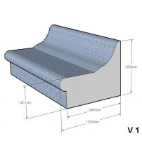 Steam sauna seat V-1