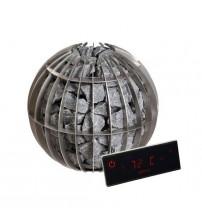 Elektrinė pirties krosnelė - Harvia Globe GL110 10.5 kW su valdymo pultu