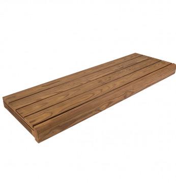 Banco de sauna, pino tr..
