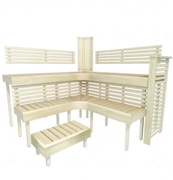 Модулна пейка за сауна ..