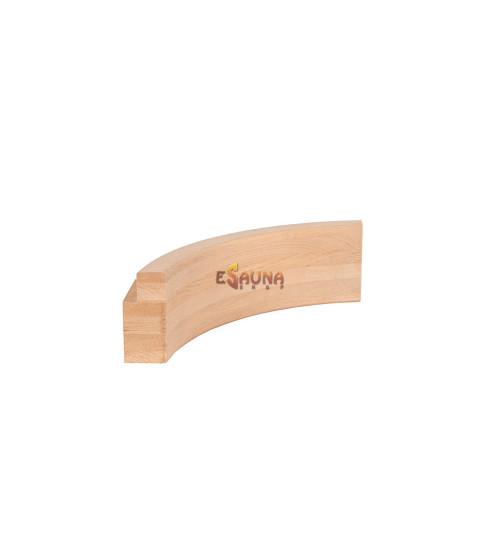 Binnenboog voor modulaire saunabanken, 90 mm
