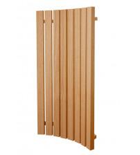 Respaldo para bancos de sauna modulares