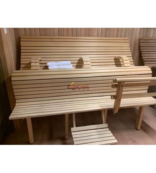 Modulare Saunaliege LuxLava CLASSIC