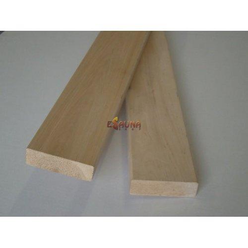 Banc en bois, 28 x 90 mm, Black Alder, classe AB