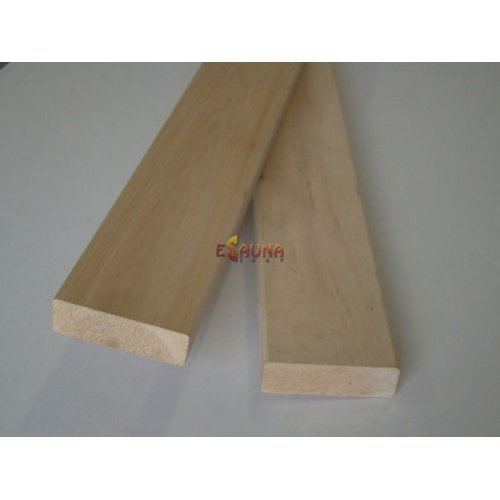 Bunk Holz, 28 x 90 mm, Erle, AB klasse
