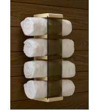 Towel holder, aspen