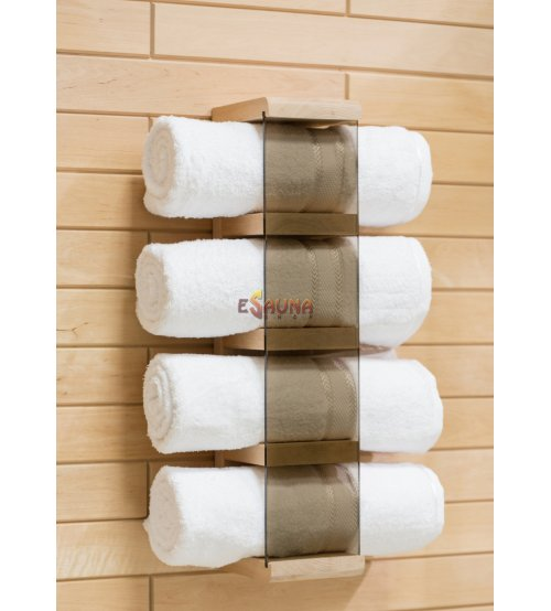 Towel holder, alder
