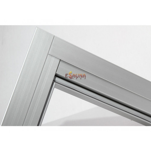 Ensemble de garnitures de porte en aluminium Harvia 7x19-21