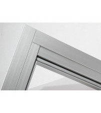 Harvia aluminium door trim set 9x19-21