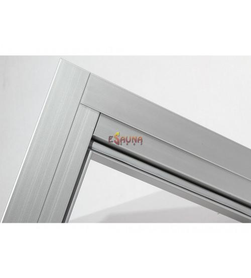 Set di porte in alluminio Harvia 7x19-21