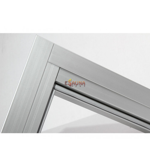 Ensemble de garnitures de porte en aluminium Harvia 7x19-21