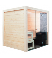 Harvia Solide indoor sauna