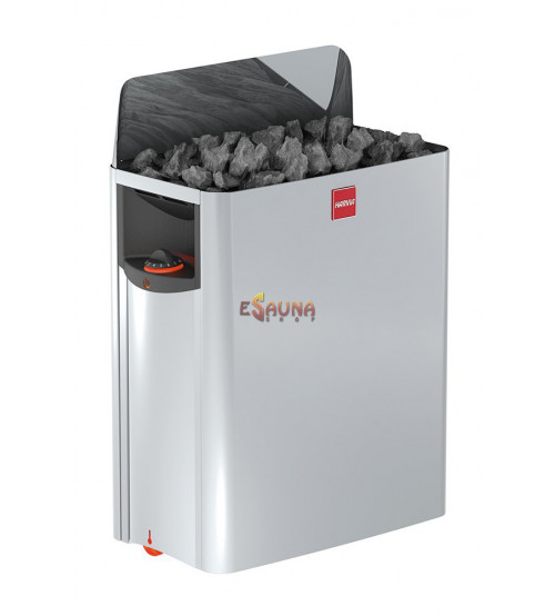 Harvia The Wall SW80 8,0 kW med kontrolpanel