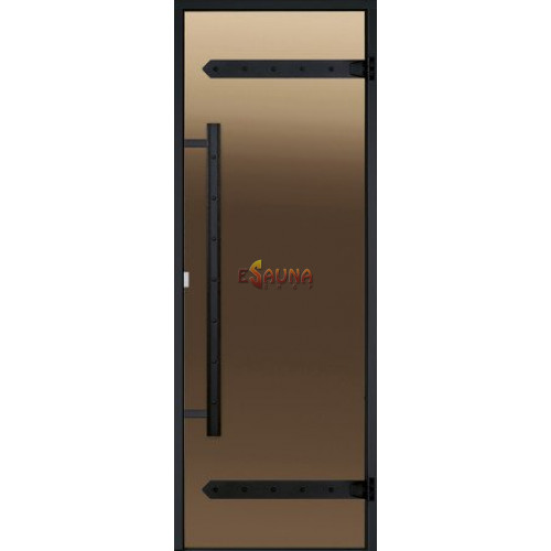 Saunatüren Harvia Legend, aluminium 8x19