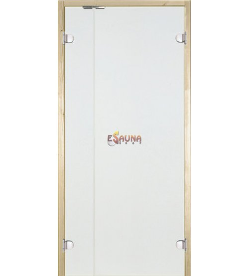 Glass sauna doors Harvia with side panel
