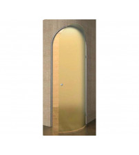Uși pentru baie de aburi Harvia Cupola, sticlă curbată