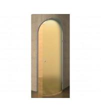 Dörrar till ångbad Harvia Cupola, böjt glas