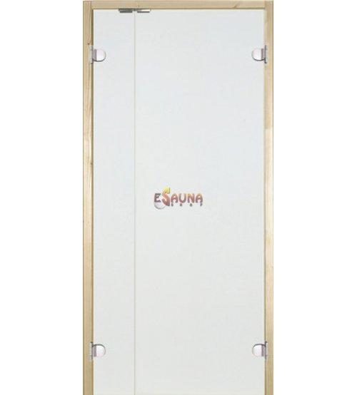 Sauna-døre i glas Harvia med sidepanel