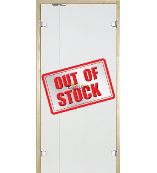 Szklane drzwi do sauny Harvia z panelem bocznym