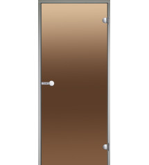 Uși de sticlă Harvia pentru aburi, camere de saună 9x21