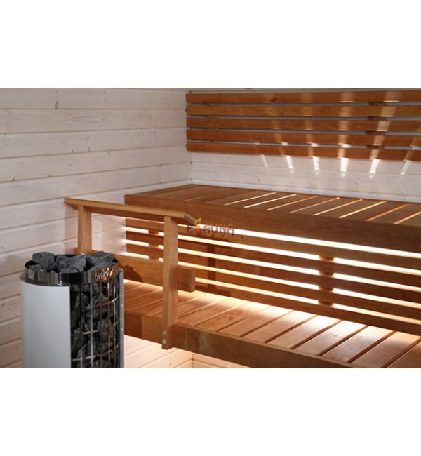 harvia formula bench kit sauna wood. Black Bedroom Furniture Sets. Home Design Ideas