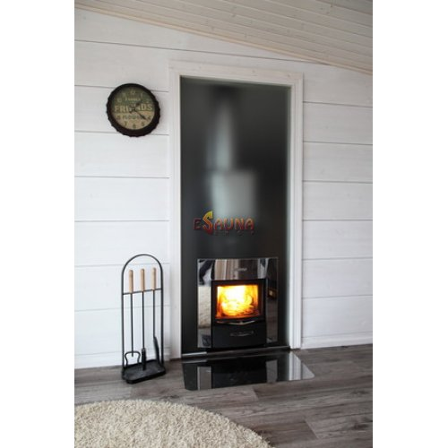 Harvia Duo glass wall 9 x 19, including frame in Woodburning heaters on Esaunashop.com online sauna store