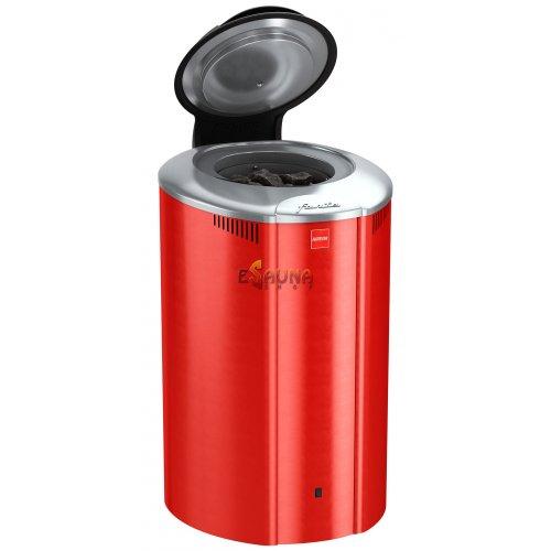 Elektrinė pirties krosnelė - Harvia Forte, 6kW, Raudona