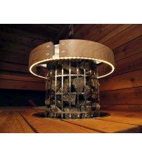 Harvia Cilindro safety railing HPC3L, LED