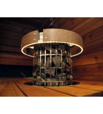 Bezpečnostné zábradlie Harvia Cilindro HPC3L, LED