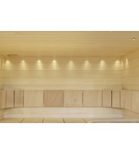 Luci a fibre ottiche luminose per saune in fibra 3