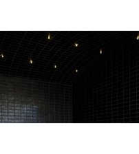 Świecące lampy światłowodowe do łaźni parowych Harvia Fiber 6