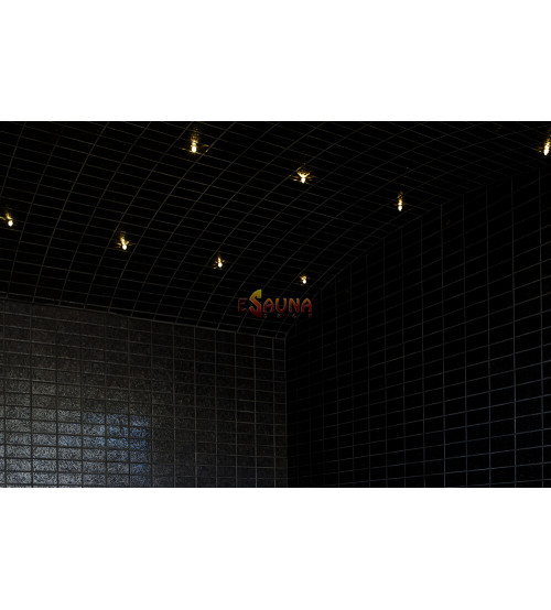 Svetelné vláknové optické svetlo pre parné miestnosti Harvia Fiber 9
