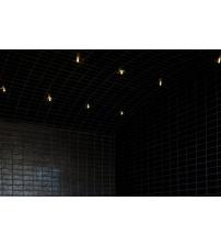 Luces luminosas de fibra óptica para salas de vapor Harvia Fiber 6
