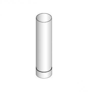 Smoke pipe 0.5 m..