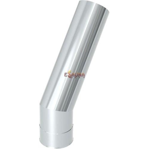 Tubo angular sin aislar 45° Helo