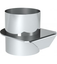 Helo damper for chimney set