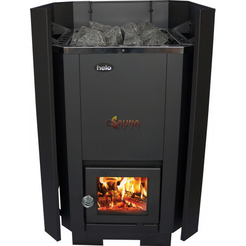 Safety wall for woodburning stove Helo R 20 in Woodburning heaters on Esaunashop.com online sauna store