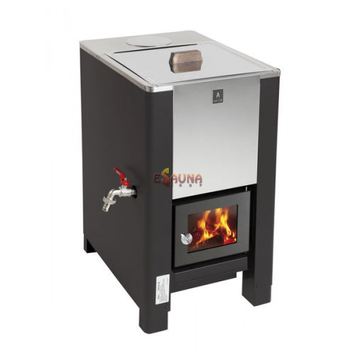 Helo wood-burning water heater Karhu, 60 l in Woodburning heaters on Esaunashop.com online sauna store
