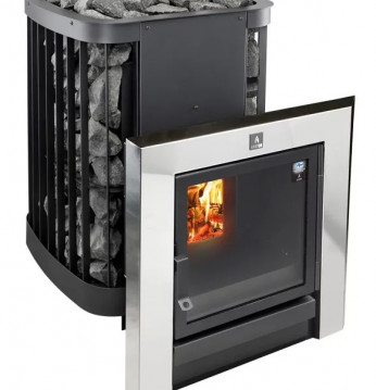 Woodburning sauna stove..