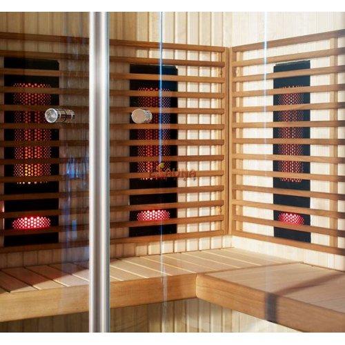Brazier Harvia Comfort in Infrared elements on Esaunashop.com online sauna store
